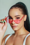 Sun Kiss Sunglasses- Pink