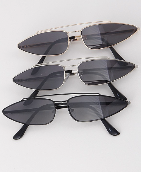 Never Out of Style Sunglasses- Silver