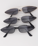 Never Out of Style Sunglasses- Black