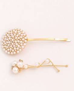 Obssessed Pearl Hairl Clip