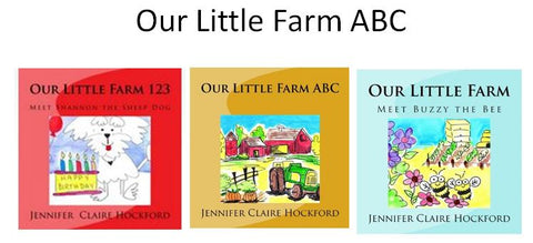 Our Little Farm - 3 Book Gift Set - Autographed Collection