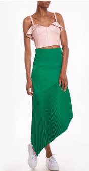Pleated Charlotte Skirt