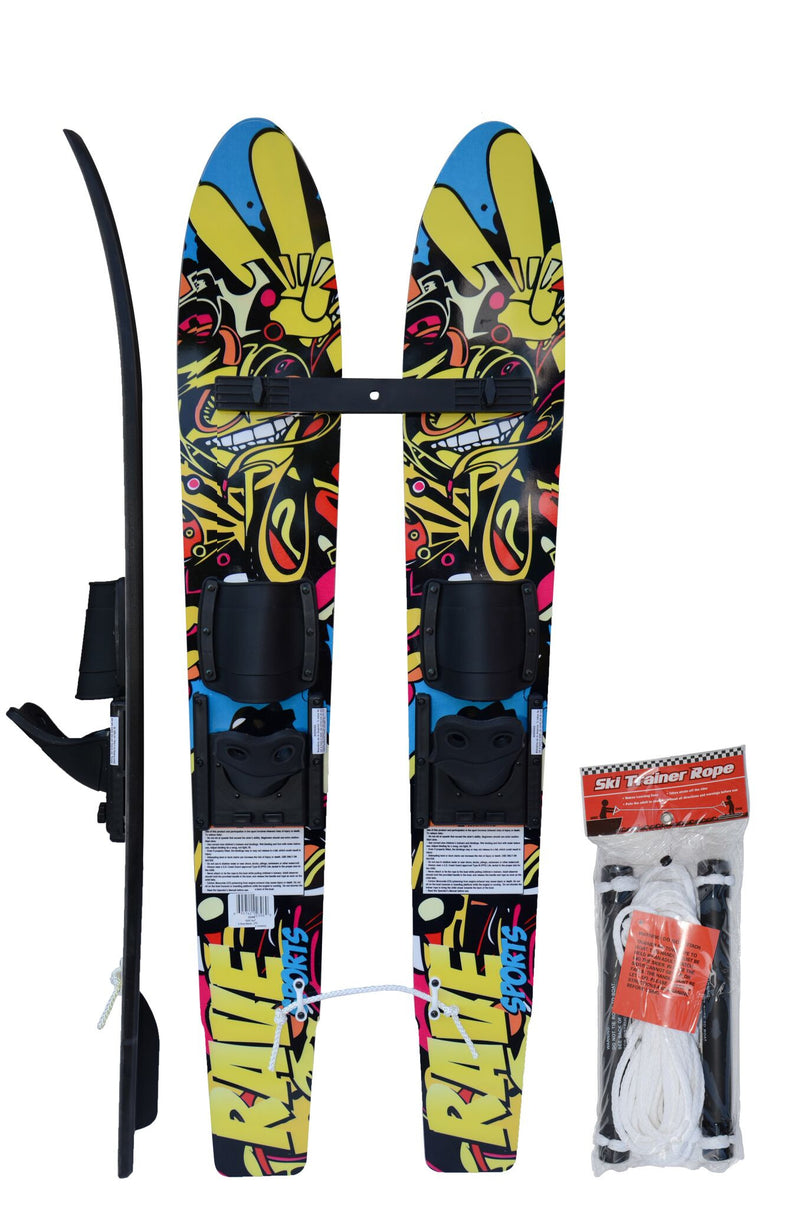 Kid's Rim Trainer Water Skis