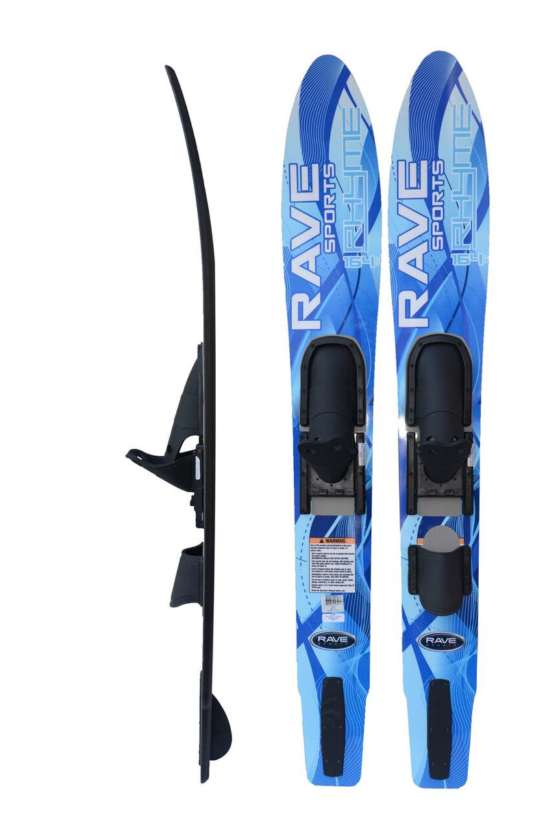 Adult Rhyme Shaped Combo Water Skis