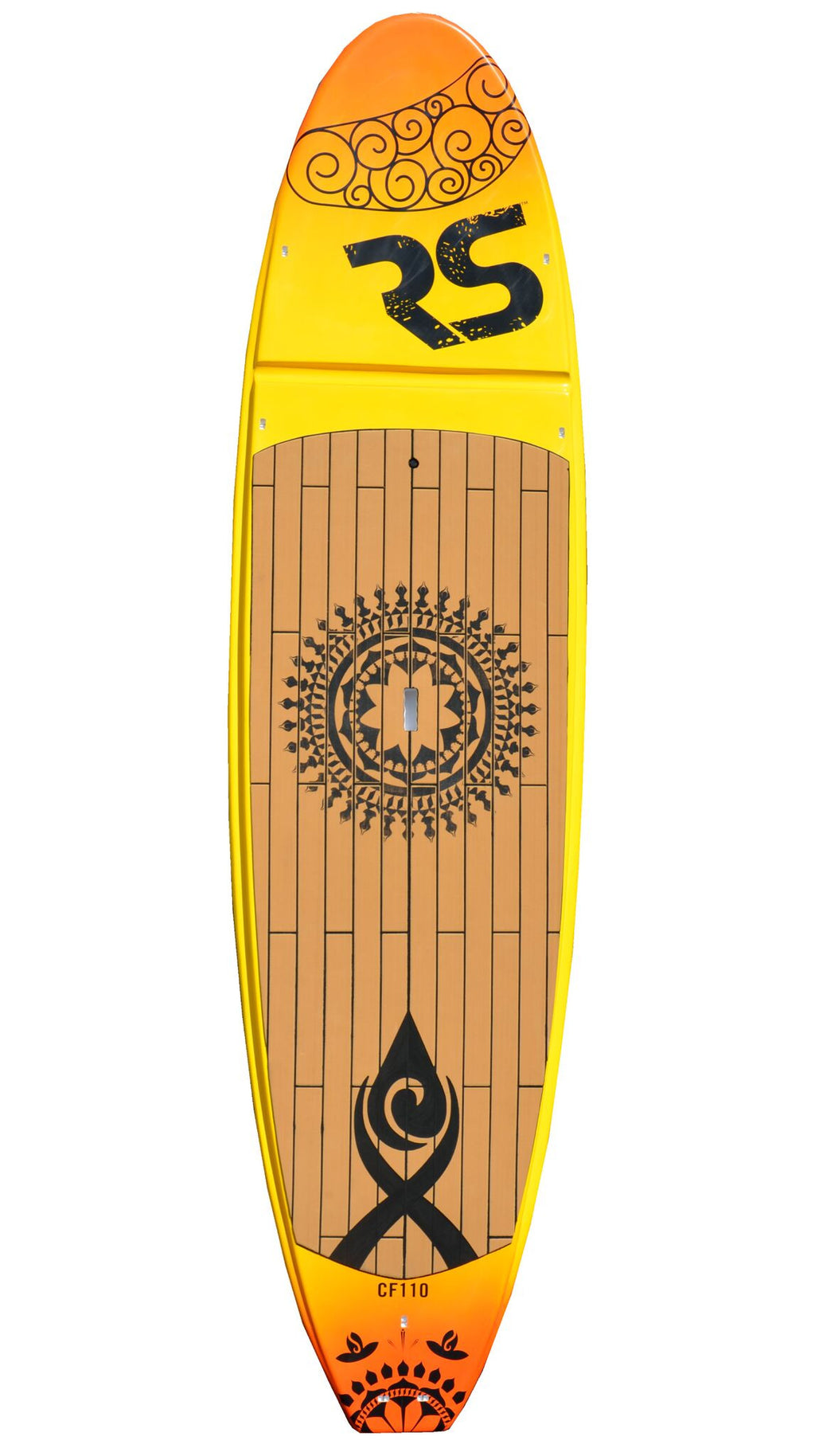 Core Cross Fit SUP Board Yellow/Orange