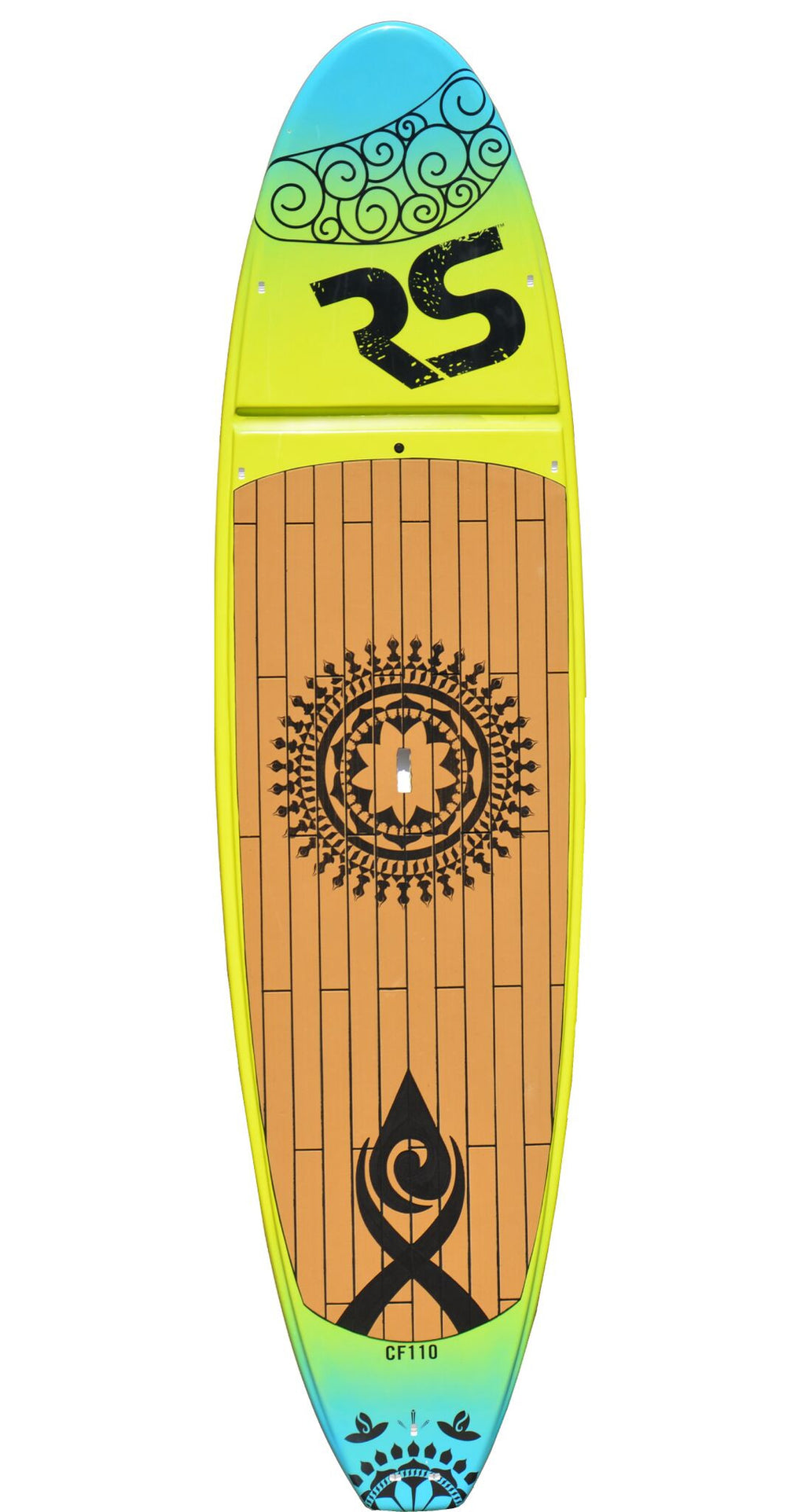 Core Cross Fit SUP Board Green/Blue
