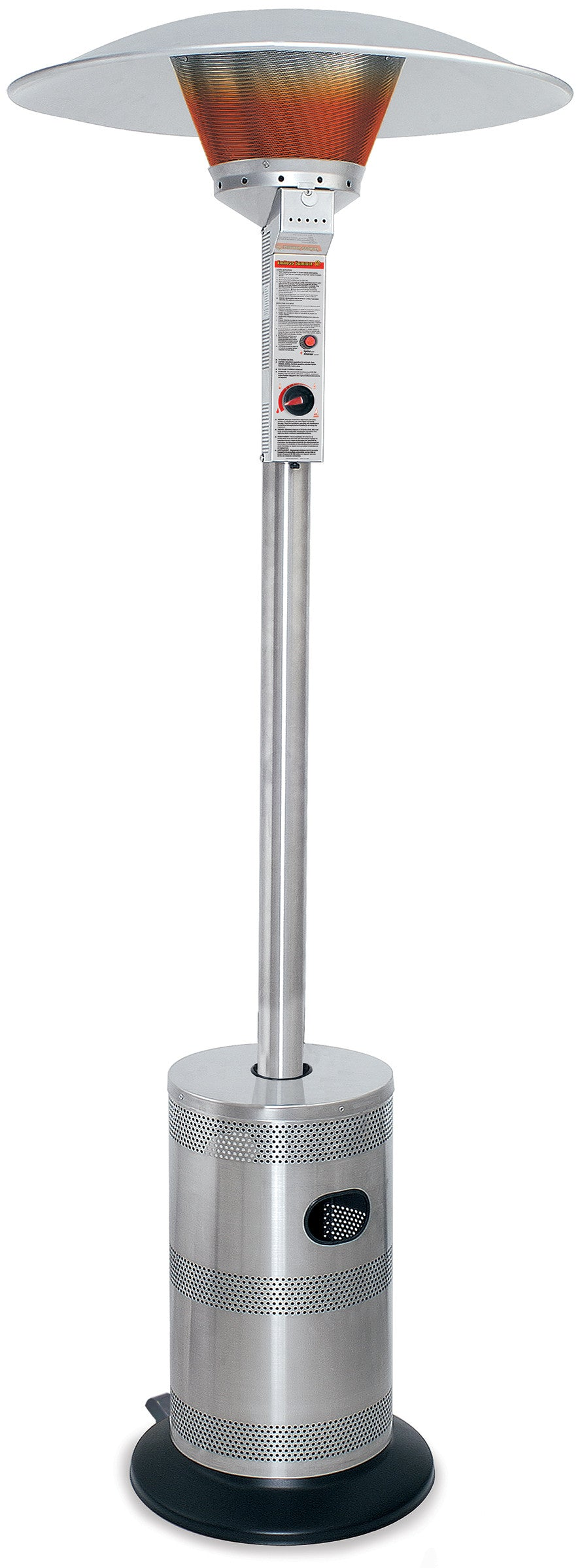 Stainless Steel Commerical Grade LP Gas Patio Heater