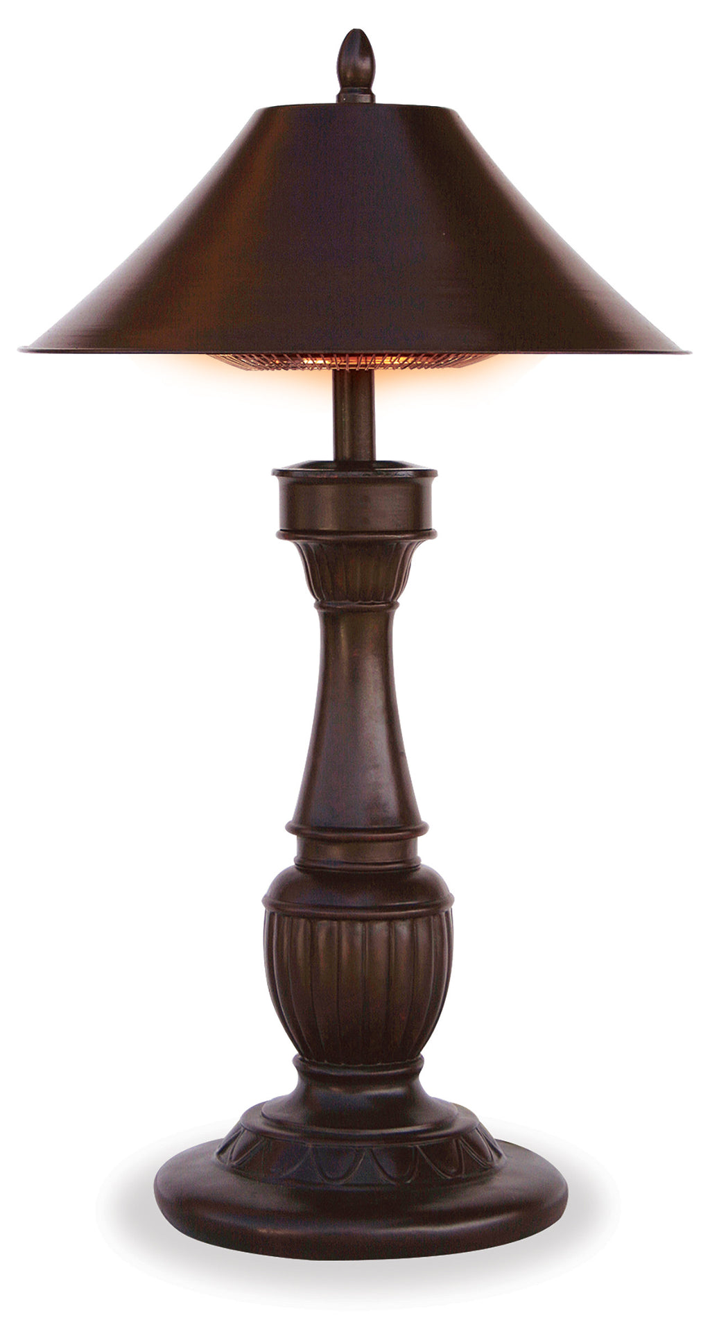 "Table Lamp Outdoor Electric Heater - ""Northgate"""