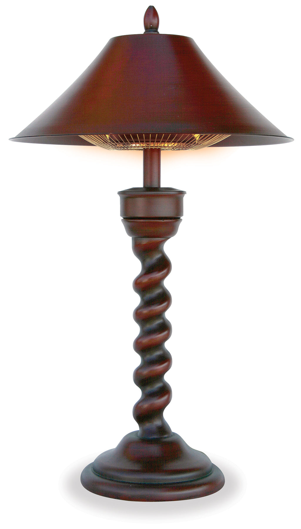 "Table Lamp Outdoor Electric Heater - ""New Orleans"""