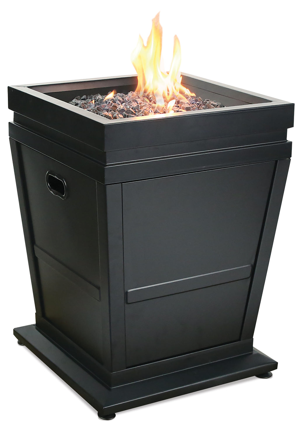 Endless Summer GAD15021M LP Gas Outdoor Fire Column, Black