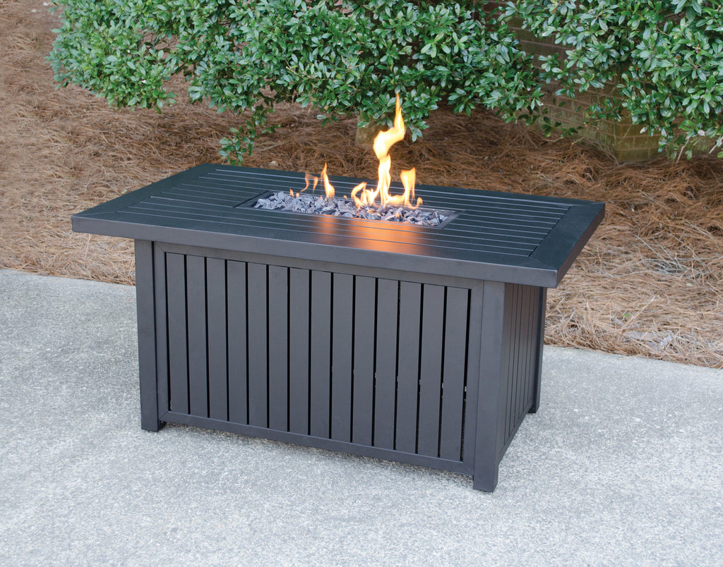 Endless Summer LP Gas Outdoor Fire Table with Aluminum Mantel - New Product