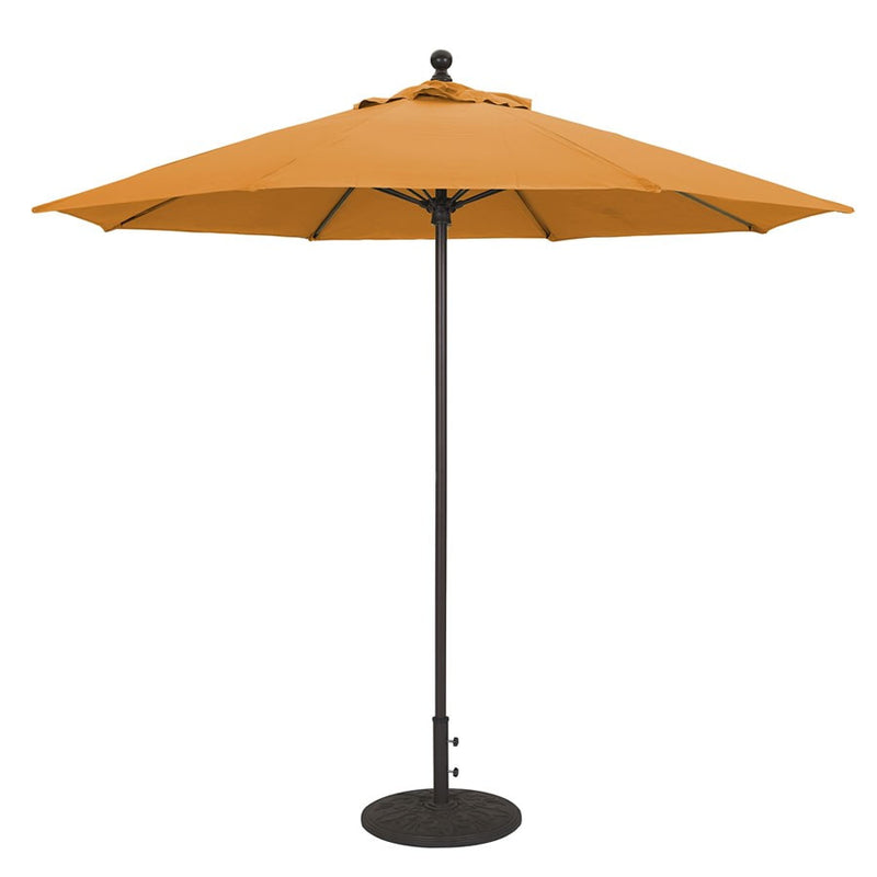 Galtech International 9' Commercial Manual Lift Umbrella