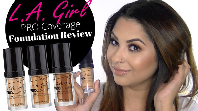 Blogger Favorite! L.A. Girl Foundation Review