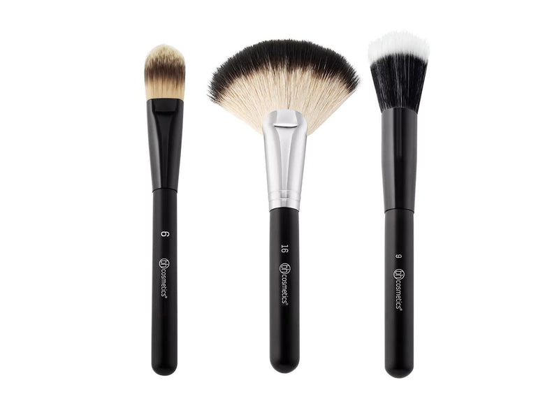 BH Blending Face Trio - 3 Piece Brush Set