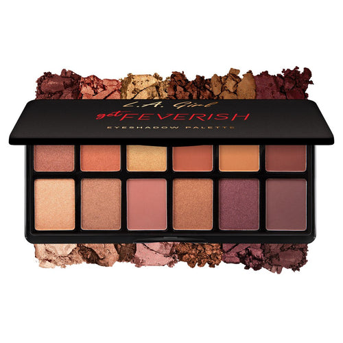 L.A. Girl Fanatic Eyeshadow Palette - Get Feverish