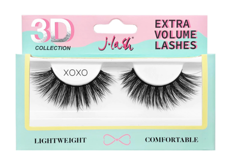 J. Lash 3D Faux Mink Eyelashes Queenie