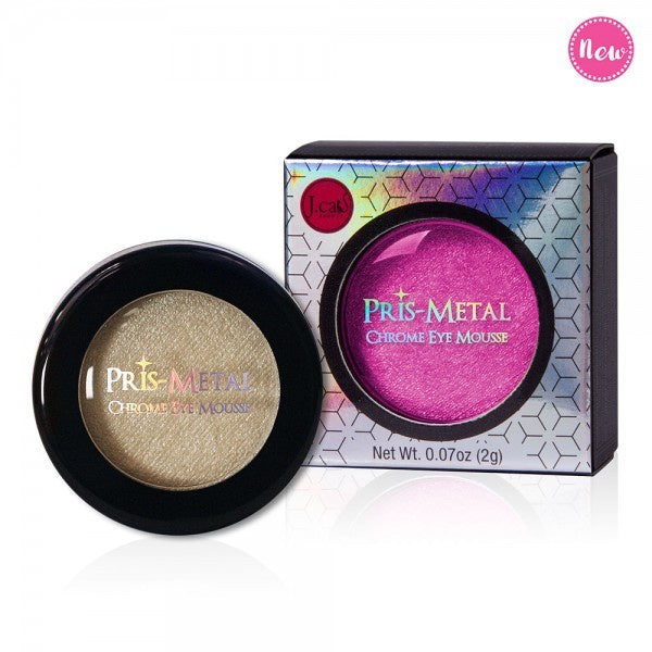 J. Cat Pris-Metal Chrome Eyeshadow Mousse