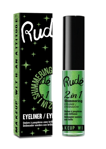 Rude 2-in-1 Shimmering Eyeliner & Eyeshadow