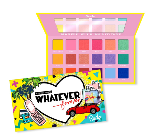 Rude Whatever Forever 18 Eyeshadow Palette