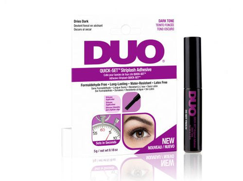 DUO Eyelash Glue Quick-Set Striplash Adhesive (Hot Pink) - Dark