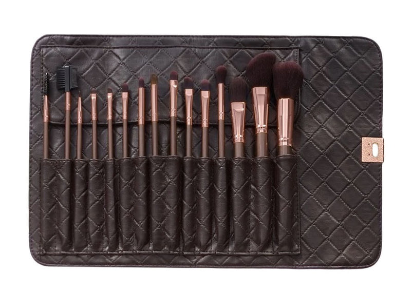 BH 15pc Rose Gold Brush Set