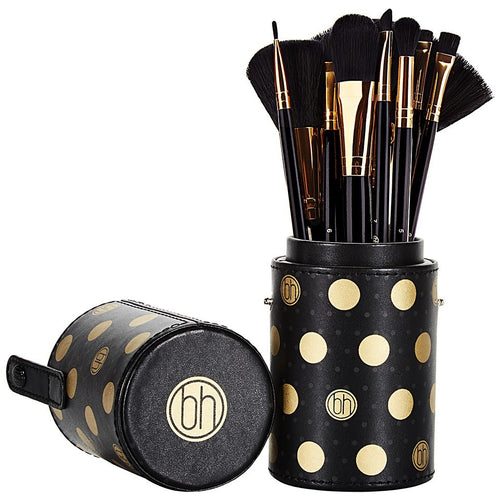 BH Dot Collection - 11 Piece Brush Set Black