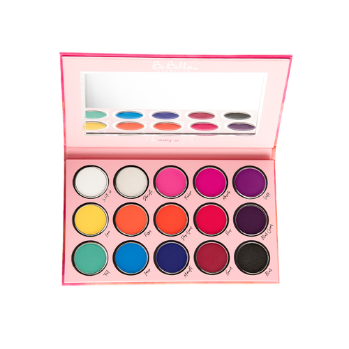 BeBella 15-Color Dreaming in Color Eyeshadow Palette