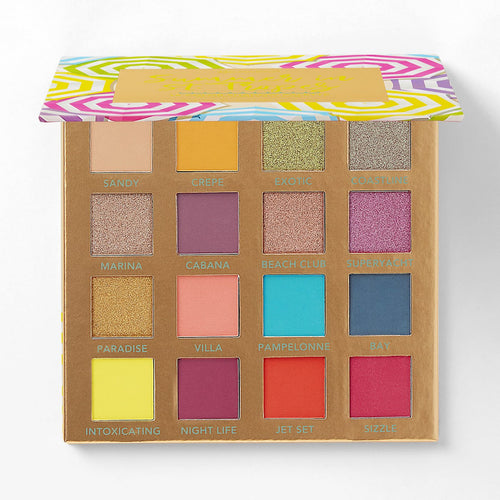 BH Summer in St. Tropez – 16 Color Shadow Palette