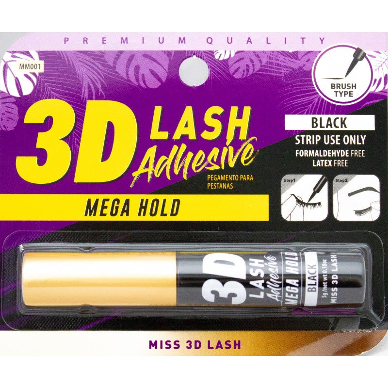 Miss 3D Lash Mega Hold Adhesive - Black