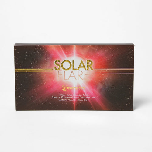 BH Solar Flare 18 Color Baked Eyeshadow Palette
