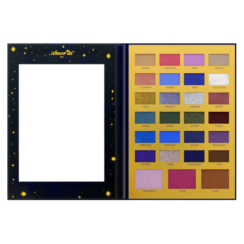 Amorus 27-Color Eyeshadow Palette - The Moon