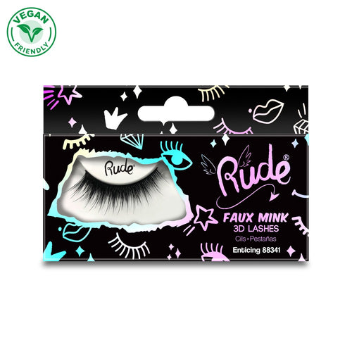 Rude Faux Mink 3D Lash - Enticing