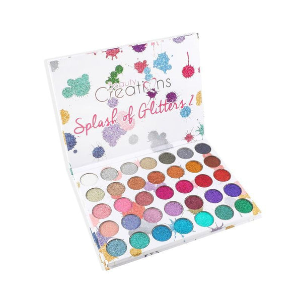 Beauty Creations Splash of Glitters 2 Eyeshadow Palette