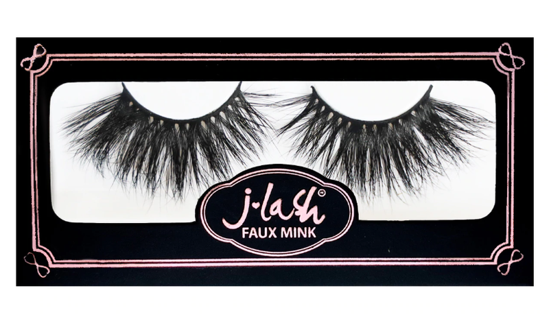 J. Lash Faux Mink Eyelashes Black Edition - Destiny