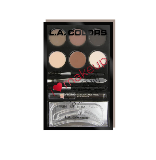 L.A. Colors Brow Palette