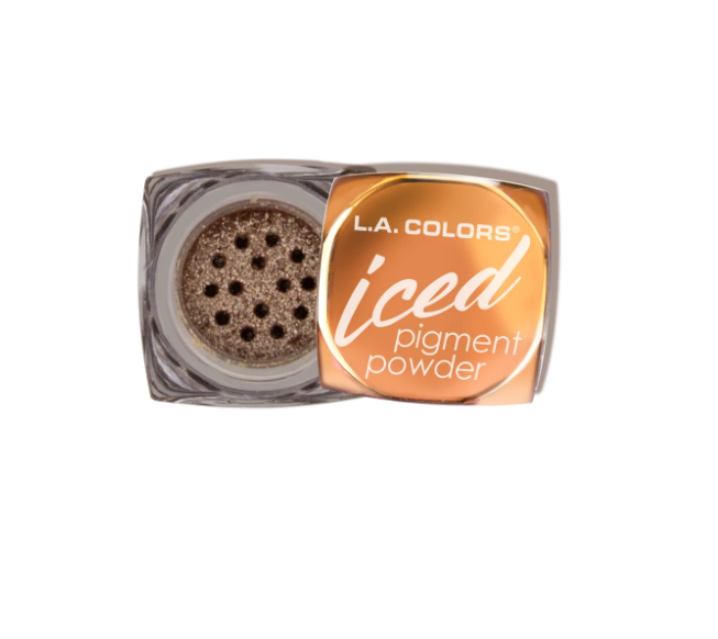 L.A. Colors Iced Pigment Eyeshadow Powder