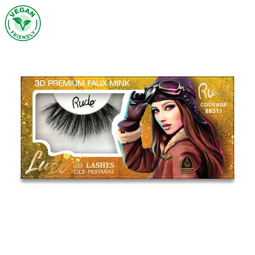 Rude Luxe 3D Lash - Courage