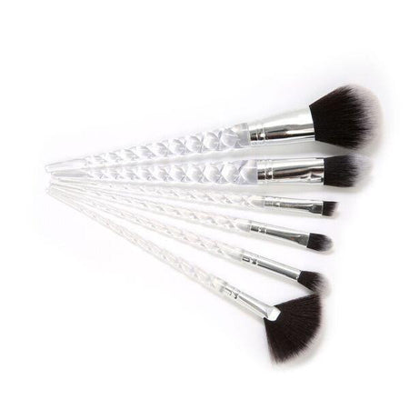 Beauty Creations 6 Piece Mermaid Fish Tail Brush Set