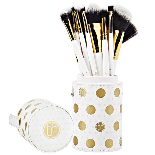 BH Dot Collection - 11 Piece Brush Set White