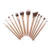 Beauty Creations 12pc Golden Bronze Brush Set