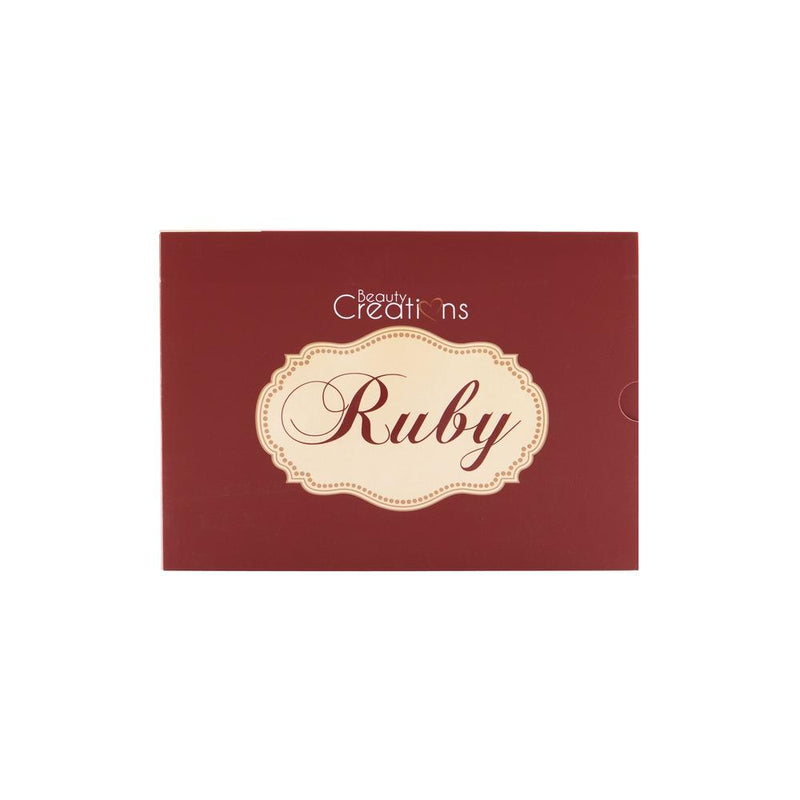 Beauty Creations 35 Color Eyeshadow Palette - Ruby