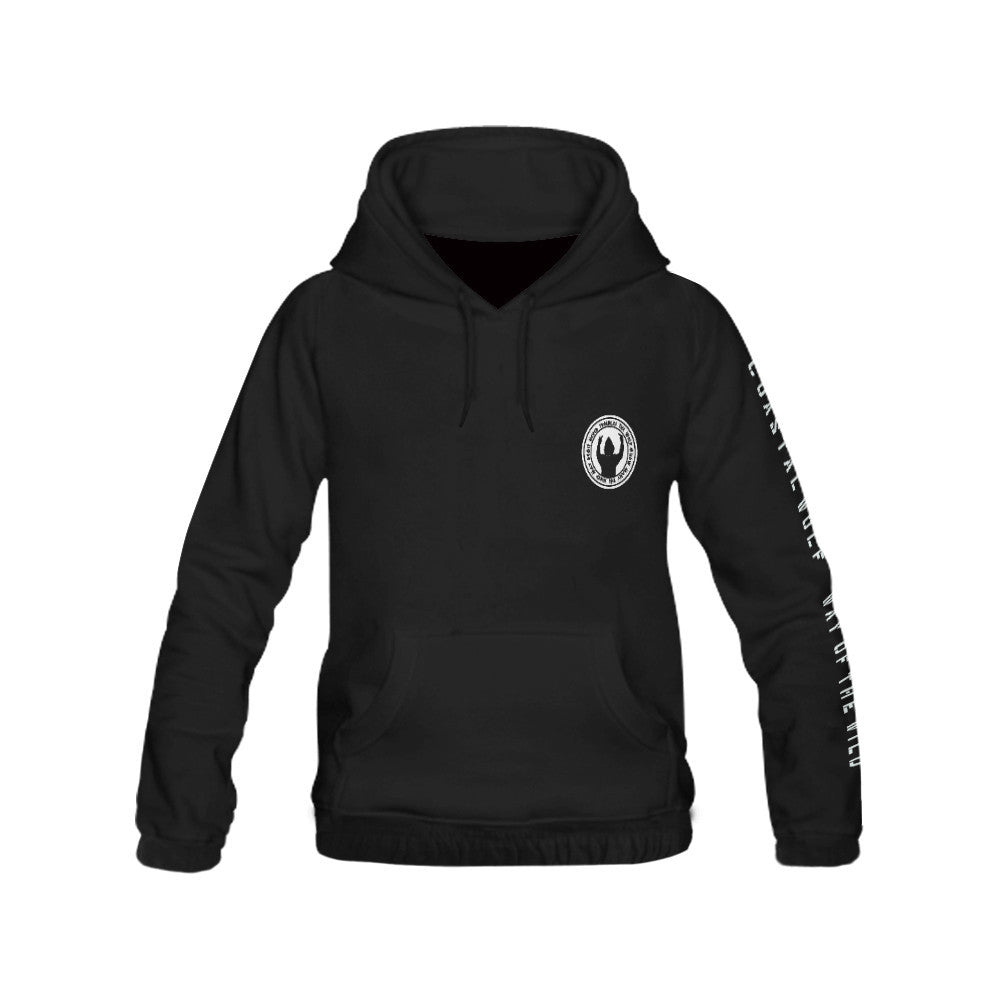 Mens 'It Never Troubles The Wolf' Pullover Hoody