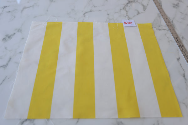 Andy Stripe Yellow fabric