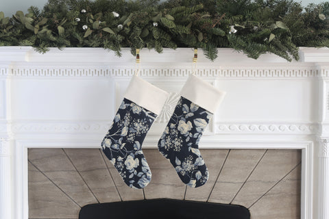 Brandy Floral Stocking