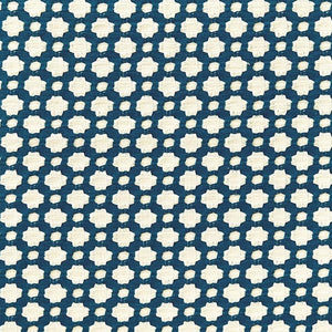 Betwixt Indigo/Ivory fabric
