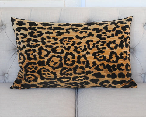 READY TO SHIP - Leopard Velvet 15x24