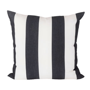 Cabana Stripe Black Indoor/Outdoor