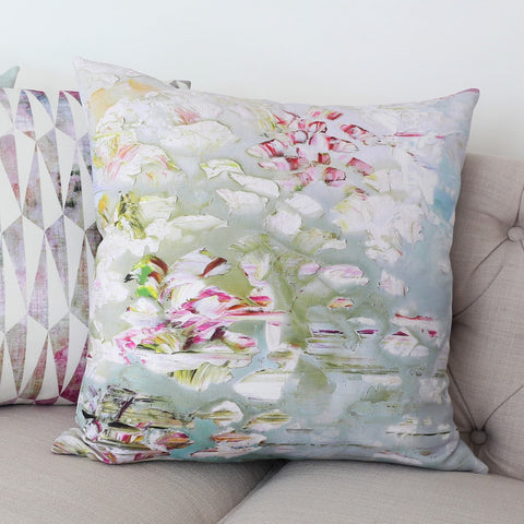 READY TO SHIP - Pleasure Gardens Linen 20x20