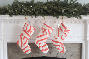 Peppermint Stocking