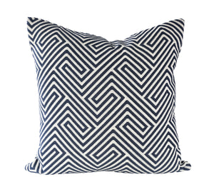READY TO SHIP - Labyrinth Weave Navy 20x20